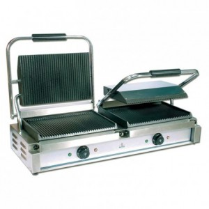 Double contact grill for meat / panini Ecoline