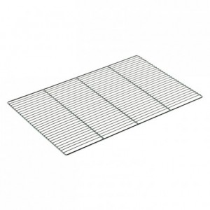 Flat chromed grid 600 x 400 mm (5 pcs)