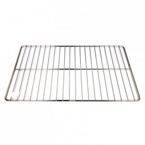 Flat grid gastronorm format stainless steel GN1/1 530 x 325 mm