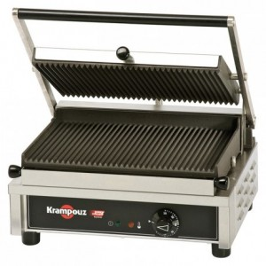 Multi-contact grill Easy Clean ridged simple