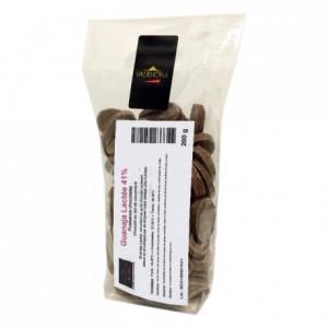Guanaja Lactée 41% chocolat au lait de couverture Mariage de Grands Crus fèves 200 g
