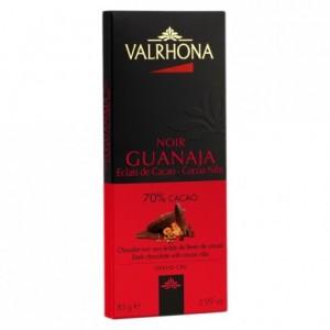 Guanaja 70% et éclats de cacao tablette 85 g