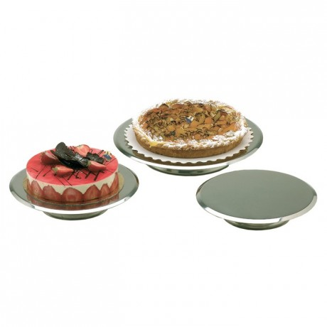 Cake stand stainless steel Ø 300 mm