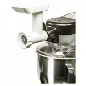 Meat grinder with 2 grinder plates