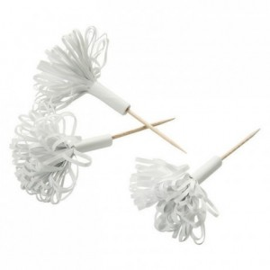 Hâtelet bouquet blanc (boite de 50)