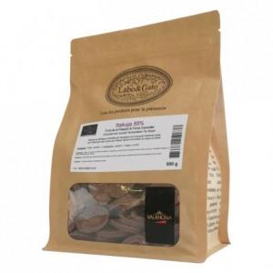 Itakuja 55% chocolat noir de couverture Double Fermentation pur Brésil fèves 500 g