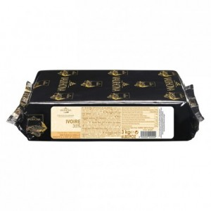 Ivoire 35% white chocolate Gourmet Creation blocks 3 kg