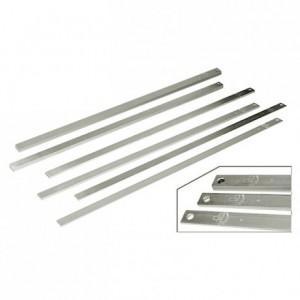 Jeu de 6 règles à confiserie en aluminium L 600 mm