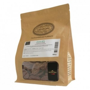 Jivara 40% milk chocolate Blended Origins Grand Cru beans 500 g