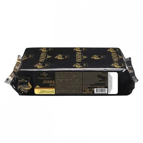 Jivara 40% chocolat au lait de couverture Mariage de Grands Crus blocs 3 kg