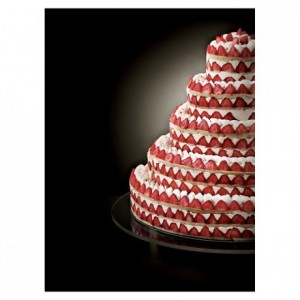 Complete kit French style Wedding Cake round