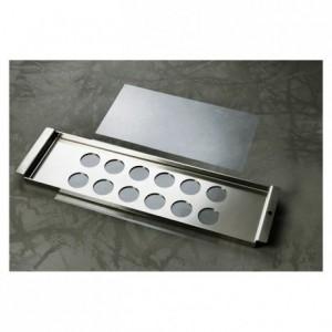 Kit de fabrication palets et tuiles chocolat Ø 40 mm