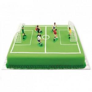 Kit de décoration football PME 9 pièces