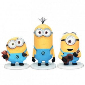 Kit Minion CakeFrame