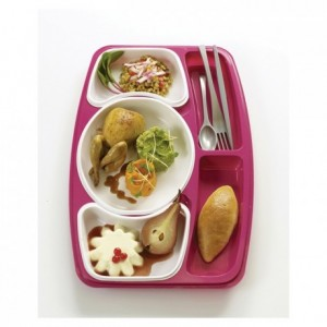 Kit set smat tray raspberry (50 pcs)