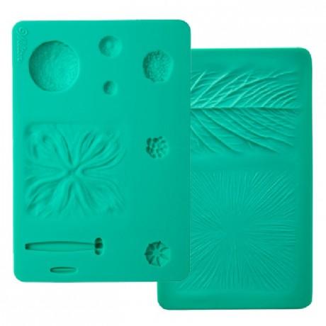 Kit Wilton veinage de fleurs silicone 2 pièces