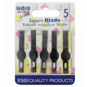 PME Spare Blades for Craft Knife-Ribbon Insertion pk/5