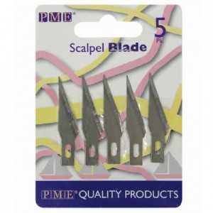 PME Spare Blades for PME Craft Knife Scalpel pk/5