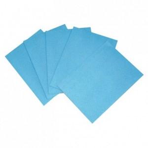 Non woven cloth blue 500 x 350 mm (25 pcs)
