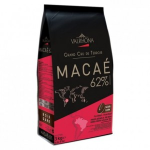 Macaé 62% dark chocolate Single Origin Grand Cru Brazil beans 3 kg