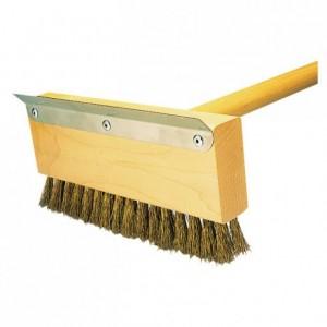 Manche bois pour brosse grattoir L 1016 mm