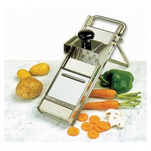 Stainless steel mandoline slicer Matfer without pusher