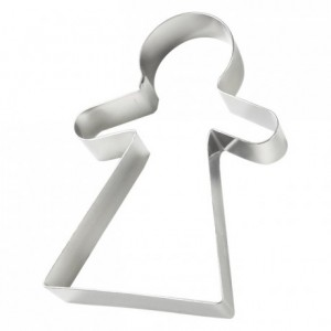Woman mannele stainless steel H45 105x70 mm