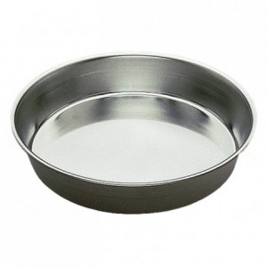 Round plain cake mould tin Ø240 mm (pack of 3)