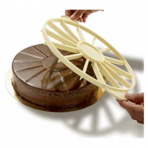 Marqueur-diviseur à gâteau 14 parts Ø 265 mm