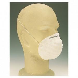 Masque d'hygiène blanc (lot de 50)