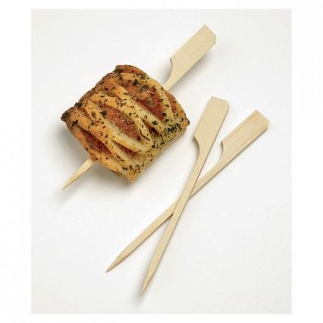 Mini brochette bambou L 90 mm (lot de 500)