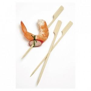 Mini brochette bambou L 150 mm (lot de 500)