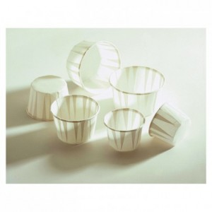 Mini cooking and pastry case Ø 38 mm (100 pcs)
