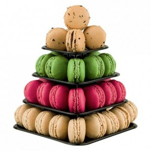 Macarons mini pyramid (6 pcs)