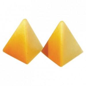 Moule 21 pyramides en polycarbonate pour chocolat