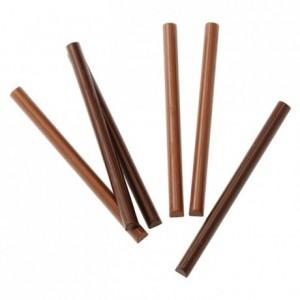Moule 22 décors bâtonnets en polycarbonate pour chocolat