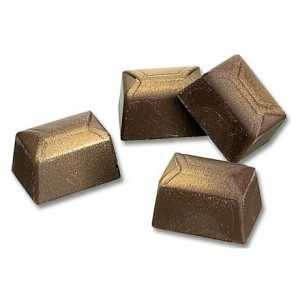 Moule 24 bonbons rectangle en polycarbonate pour chocolat