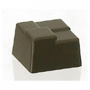 Moule 24 bonbons carrés cannage en polycarbonate pour chocolat