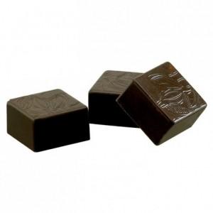 Moule 24 bonbons carrés en polycarbonate pour chocolat