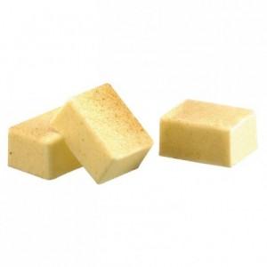 Moule 24 coques rectangles en polycarbonate pour chocolat