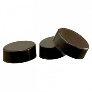 Moule 24 coques ovales en polycarbonate pour chocolat