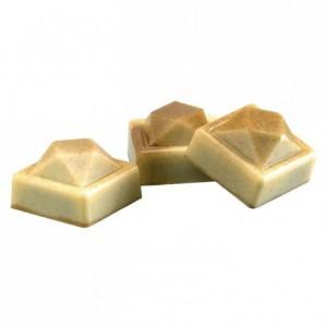 Moule 24 joyaux à facettes en polycarbonate pour chocolat