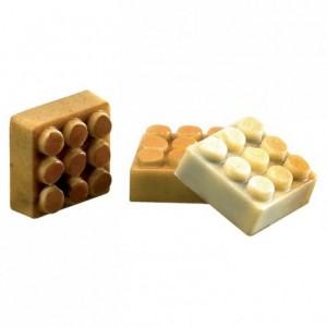 Moule 24 pions Lego® en polycarbonate pour chocolat