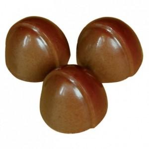 Moule 24 pomponettes décalées en polycarbonate pour chocolat