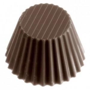 Moule 24 pralines en polycarbonate pour chocolat