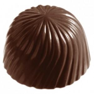 Moule 24 rosaces en polycarbonate pour chocolat