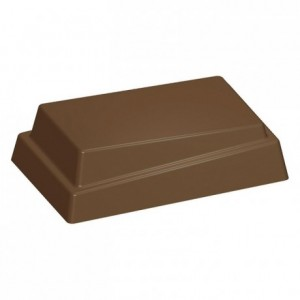 Moule 25 bonbons rectangles en polycarbonate pour chocolat 275 x 175 mm