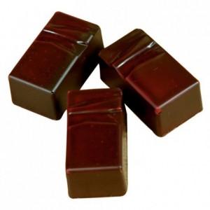 Moule 24 pralines rectangulaires en polycarbonate pour chocolat