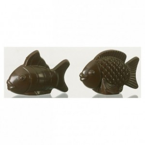 Chocolate mould polycarbonate 2 fishes
