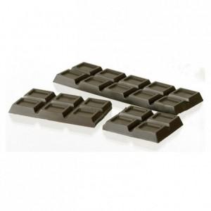 Moule 2 tablettes 200 g en polycarbonate pour chocolat